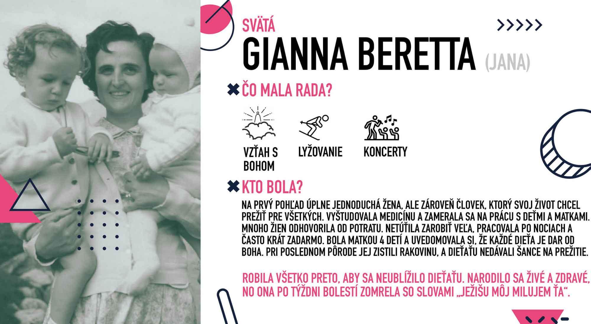 Gianna Beretta